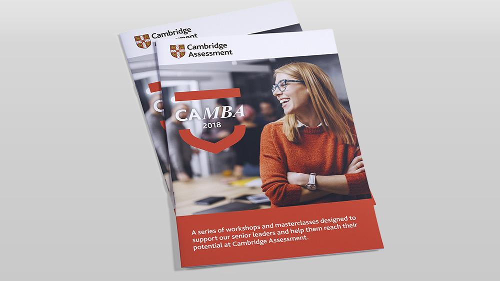 CAMBA 2018 Brochure Design