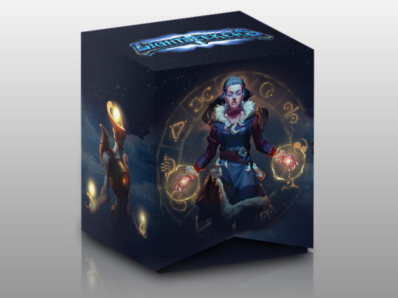 Lightseekers Corebox Packaging