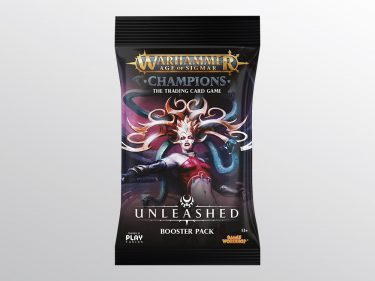 WH Champions Unleashed Booster Pack Packaging