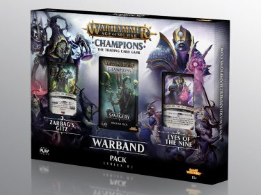 WH Champions: Warband 02 Packaging Design 01