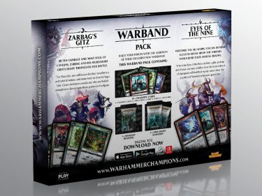 WH Champions Unleashed Warband Series II Packaging Back