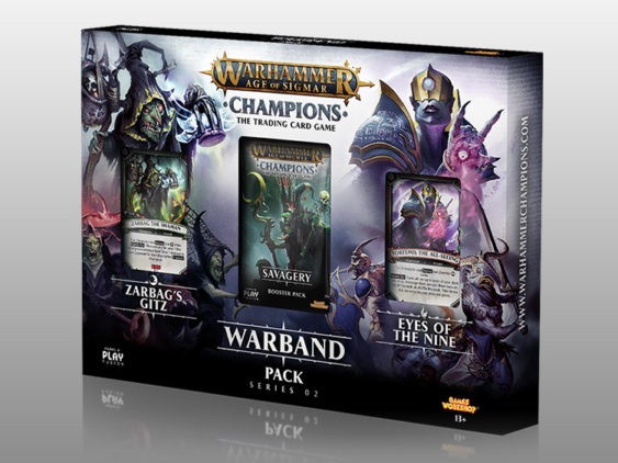 WH Champions Unleashed Warband Series II Packaging