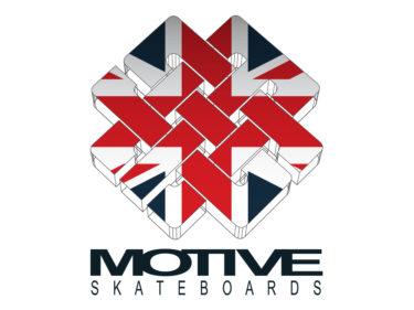 Motive Skateboards Logo Union Jack