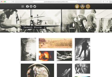 Parshin Pourmozafari Photography Website Music Page