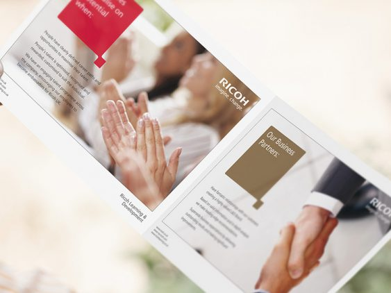 Ricoh UK Ltd Brochure Design