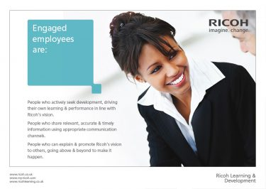Ricoh UK Ltd Brochure Design Page 02
