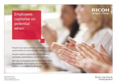 Ricoh UK Ltd Brochure Design Page 03