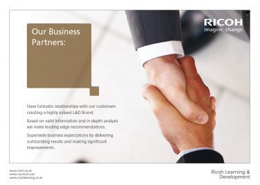 Ricoh UK Ltd Brochure Design Page 04