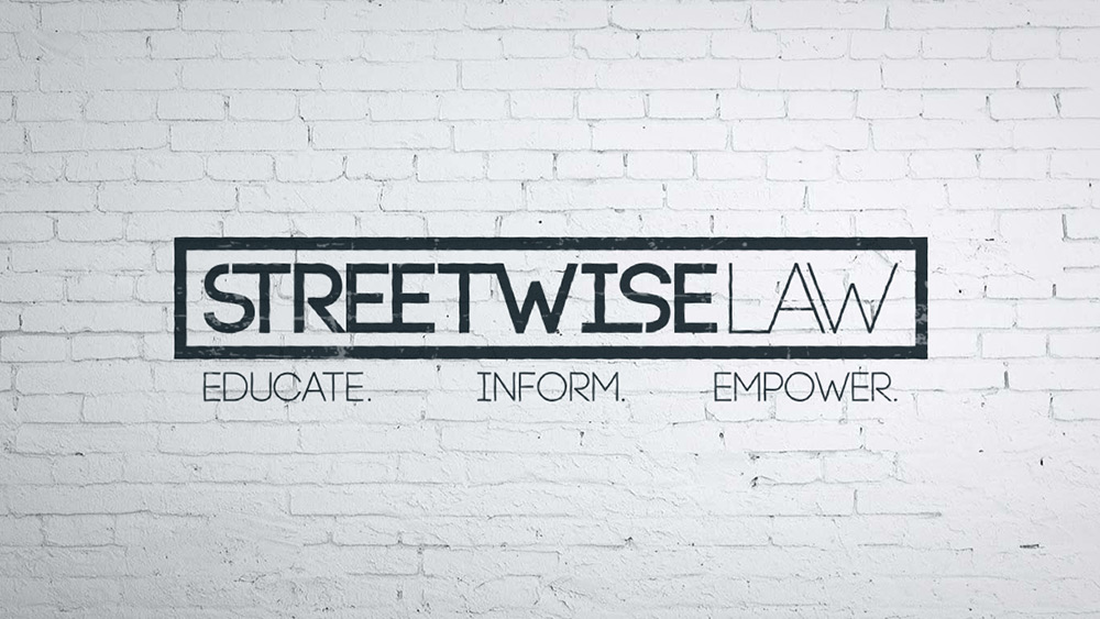 Streetwise Law Logo Design