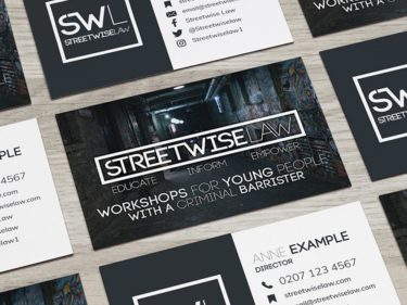 Streetwise Law Business Card